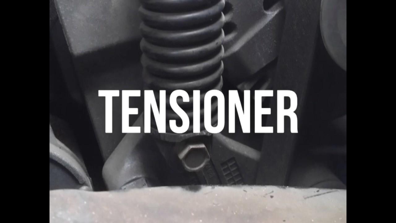 Belt tensioner tool  YouTube