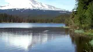 Trillium Lake Mt. Mount Hood View Timberline Lodge Portland Oregon Or Ski Resort