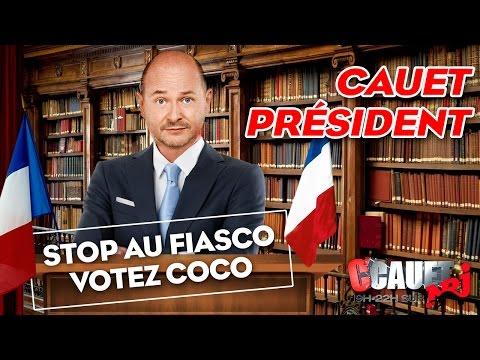 Cauet Président: Stop au fiasco, votez Coco - C'Cauet sur NRJ