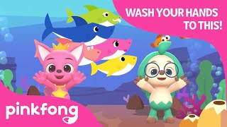 Faster Baby Shark | Wash Your Hands to This | @Baby Shark Official