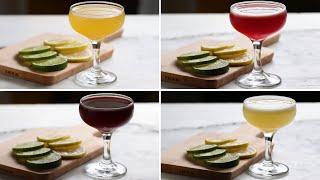 3-Ingredient Cocktails 4 Ways