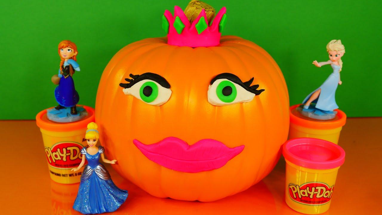 Play doh princess halloween decorating pumpkin with playdough do it play doh princess halloween decorating pumpkin with playdough do it yourself princesa de plastilina solutioingenieria Images