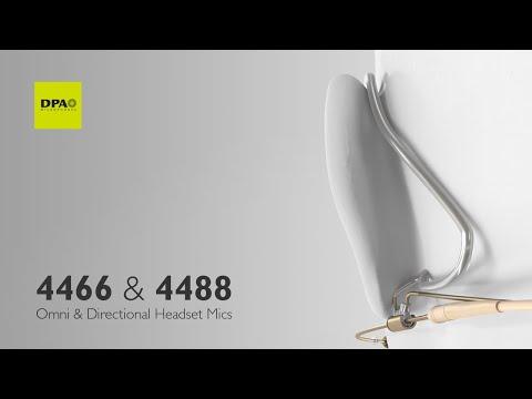 Next-level DPA 5 mm headset mics – unmatched sound, award-winning design