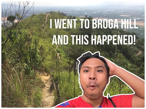 [VLOG #002] I Went To Broga Hill (Malaysia) By Public Transport!   Student Hiking Equipment   HIKING
