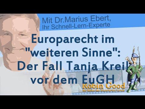 Tanja Kreil wollte zur Bundeswehr, Europa-Rechts-Fall