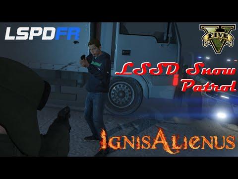 GTAV: LSPDFR | Gameplay: LSSD Patrol | Blizzard Patrol | Ep. 22