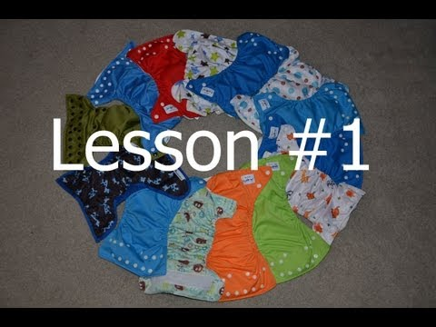 Lesson 1: Cloth Diaper Styles - Cloth Diapering 101