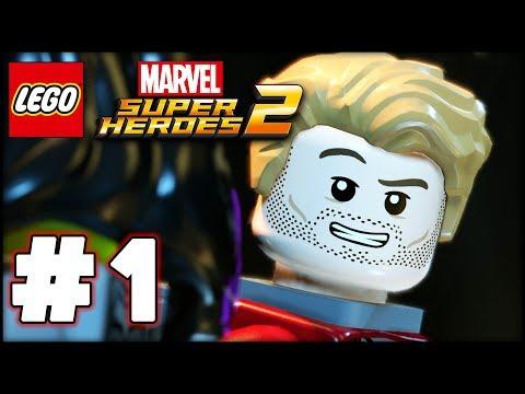 LEGO Marvel Superheroes 2 - Part 1 - Kang Attacks! (HD Gameplay Walkthrough)