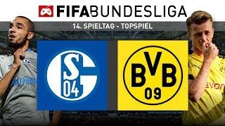 FIFA-Bundesliga   Topspiel: FC Schalke 04 - Borussia Dortmund 🔥 (14. Spieltag)   FIFA 19