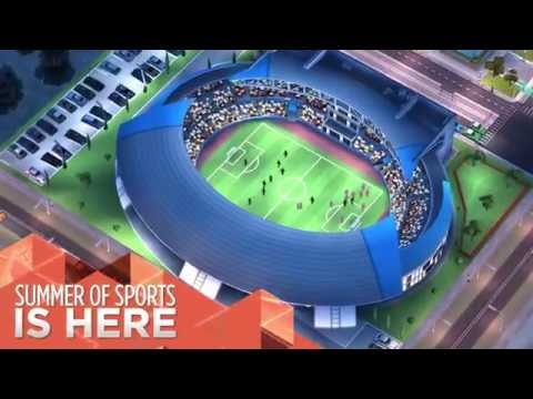 SimCity BuildIt | Summer Sports Update