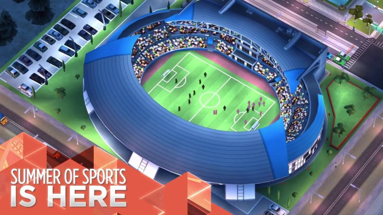 SimCity BuildIt receives a sporty update, releasing over the
