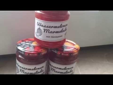 * * * Wassermelonen – Himbeer Marmelade * * * ☕ ANLEITUNG ☕