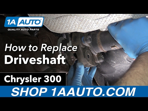 How to Replace Driveshaft 05-10 Chrysler 300