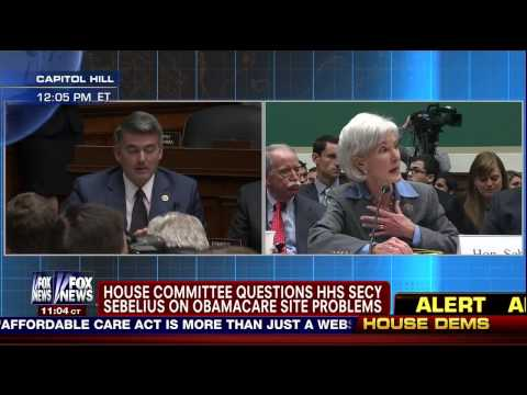 Rep. Cory Gardner Questions Secretary Sebelius on Obamacare