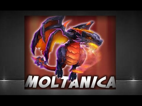 The Dragon Hero: Moltanica Most Powerful Hero In Castle Clash?