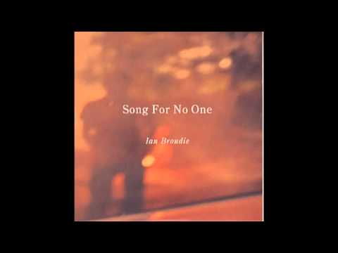 Song For No One - Ian Broudie