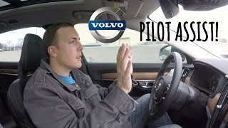Experience Pilot Assist in a Volvo S90 With Me!