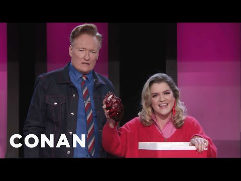 Conan Makes Valentine's Day Gifts Using Recycled Materials - CONAN on TBS