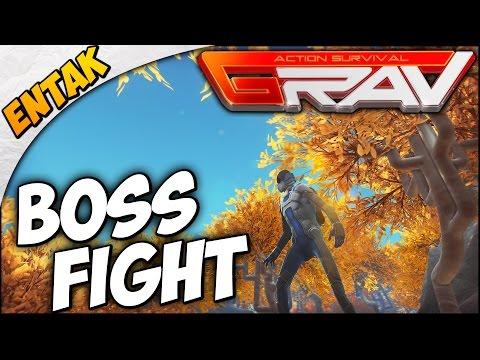 GRAV Gameplay ➤ Boss Fight, Building A Bridge & New High Level Area [Level 8]