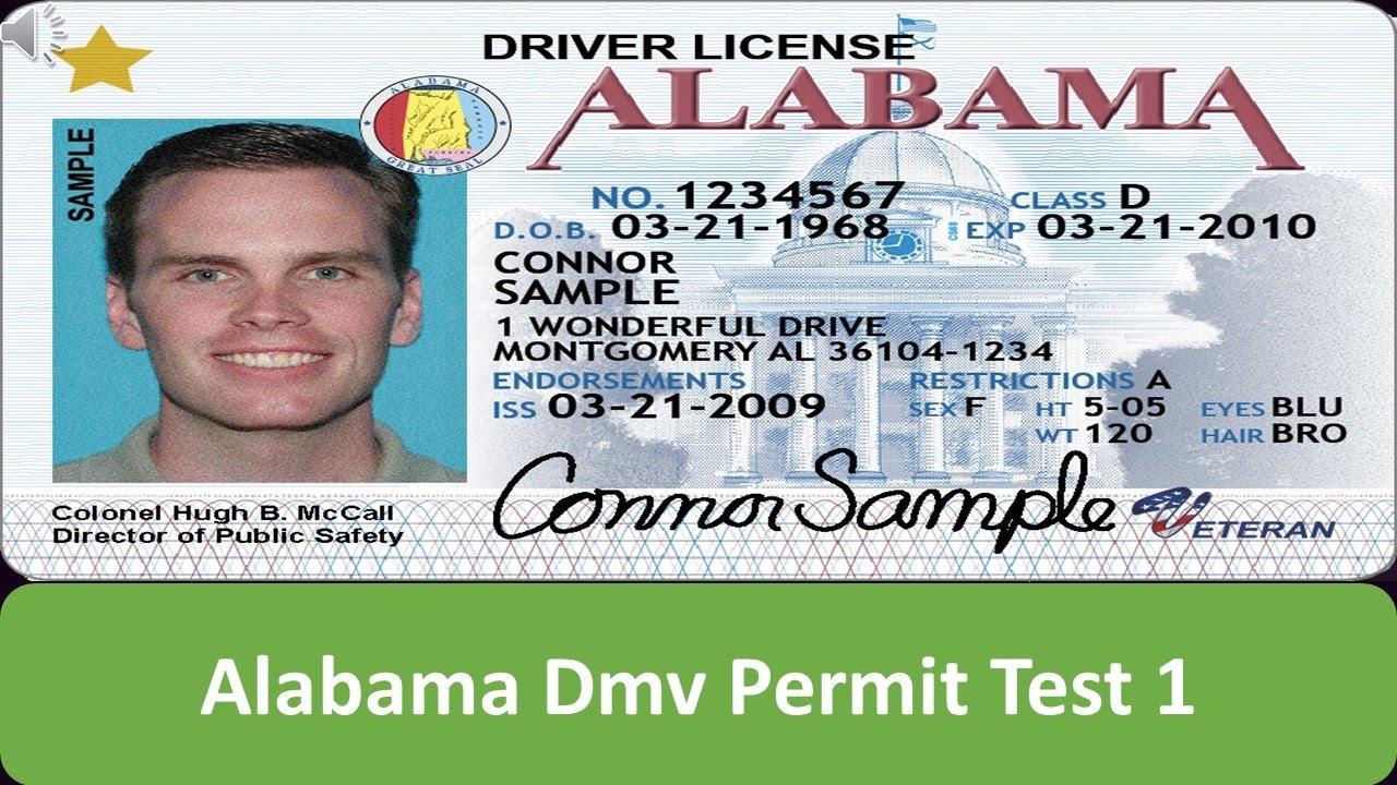 alabama drivers education practice test