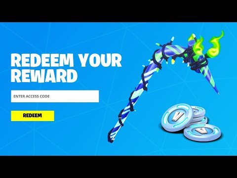 REDEEM THE FREE PICKAXE CODE In Fortnite! (How To Get Minty Pickaxe)