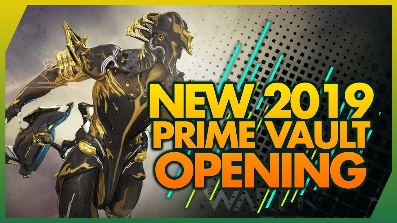 Warframe: New 2019 Prime Vault Opening - Volt & Loki Prime Unvault