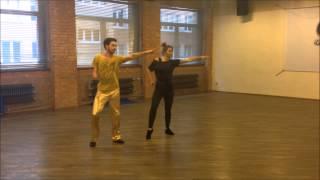 Taniec z Gwiazdami 2014 Jasiek Mela i Magda Soszyńska - trening
