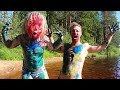 FATHER SON PAINT WAR!