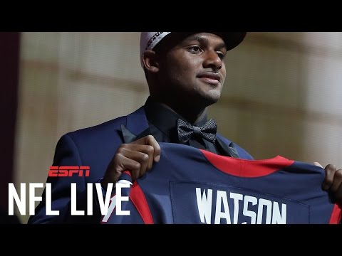 How Long Before Deshaun Watson Gets The Ball In Houston? | NFL Live | ESPN