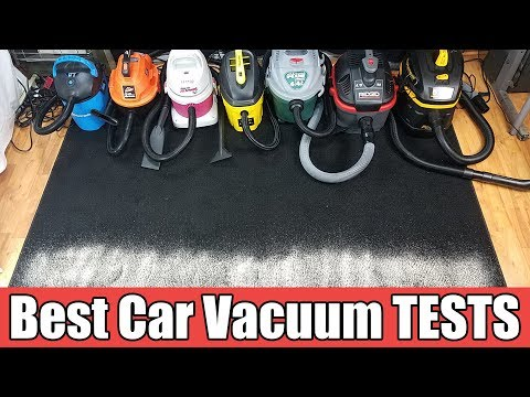 Best Vacuum For Car Detailing - TESTED Ridged vs Shop Vac vs Armor All vs Vacmaster