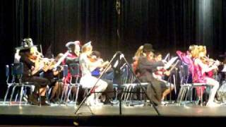 """M To The Third Power"" performed by Tippit Middle School and Forbes Middle School Orchestra"