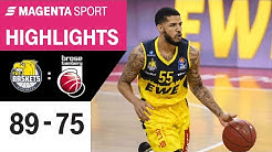 EWE Baskets Oldenburg - Brose Bamberg | BBL Final-Turnier 2020 VF - Spiel 2 | MAGENTA SPORT