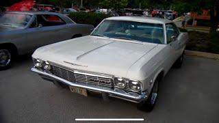 1965 Chevrolet Impala SS White/White 396 Turbo Jet