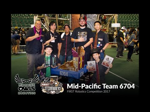 Mid-Pacific FRC Team 6704 at the Hawaii Regionals