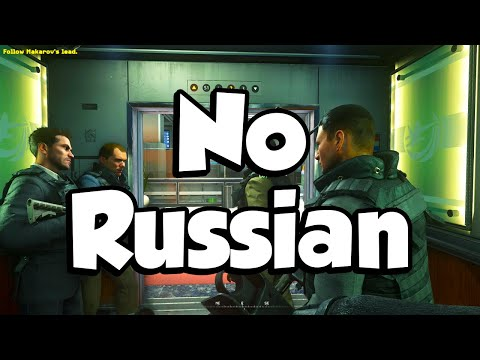 NO RUSSIAN REMASTERED! (Call of Duty: Modern Warfare 2 Campaign Remastered #3)