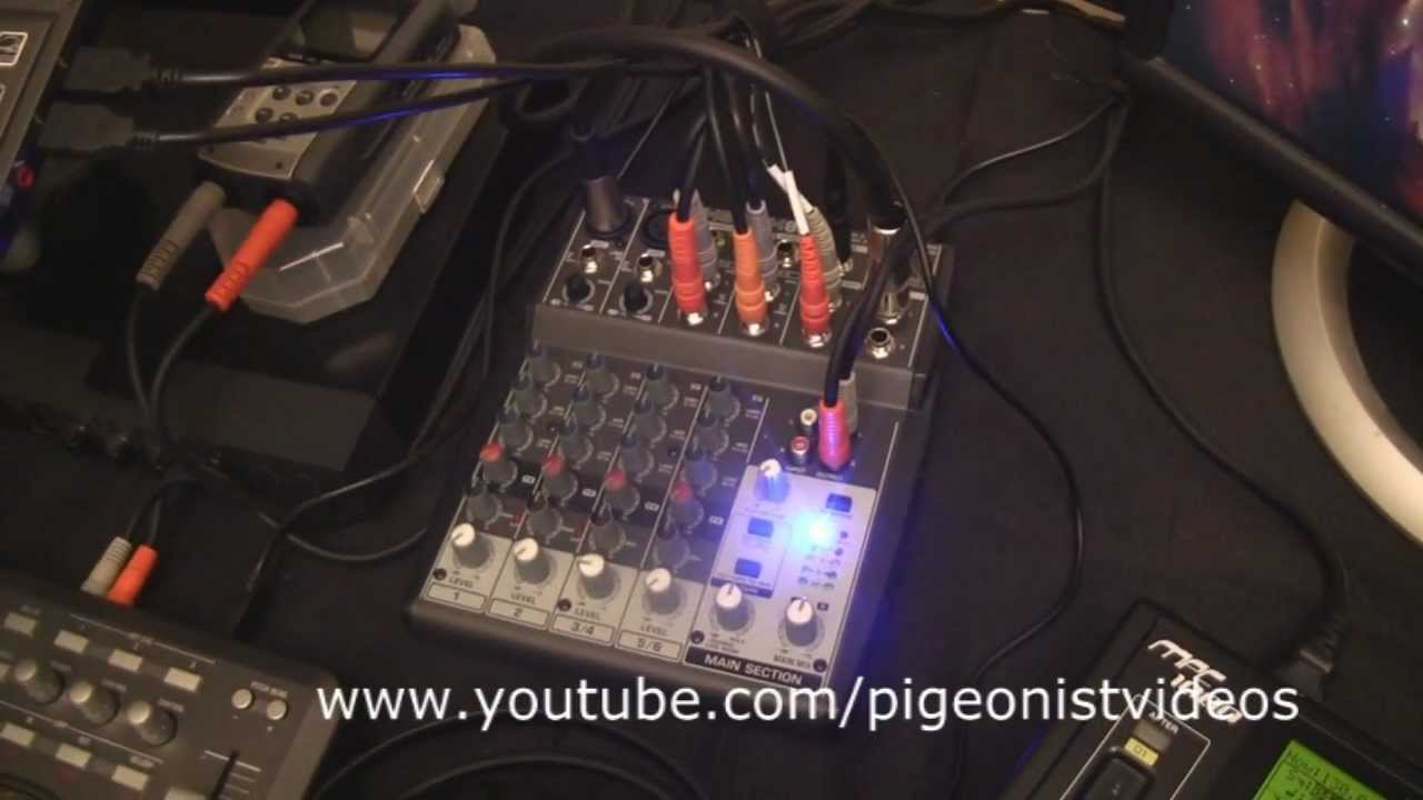 behringer xenyx 802 mixer setup youtube. Black Bedroom Furniture Sets. Home Design Ideas