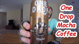 One Drop Mocha coffee