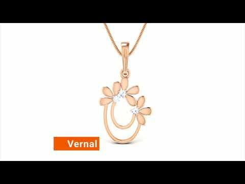 Diamond Pendant Under ₹10,000 - Julebox