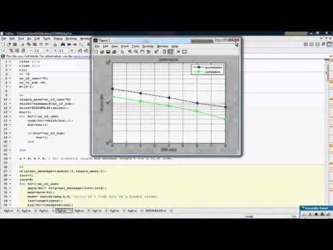 Performance of Coded Multi carrier DS CDMA System in Multi path fading channels Simulation Demo