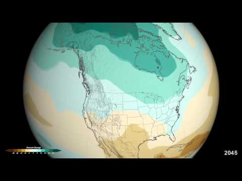 NASA | Projected U.S. Precipitation Changes by 2100