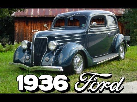 1936 Ford 2dr Humpback Sedan for Sale on eBay - YouTube