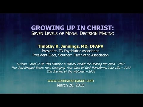 God And Your Church 1:  Seven Levels of Moral Decision-Making