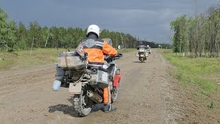 Еду в Магадан на мотоцикле 2016 Часть 1