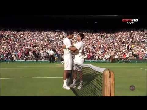 Novak Djokovic Match Point vs Juan Martin Del Potro Semifinal Wimbledon 2013 Highlights