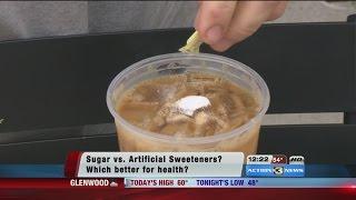 Natural sugar or artificial sweeteners?