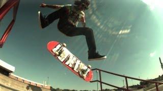 Brandon Hooper 5 tricks 600 fps slow mo