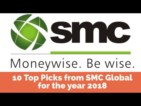 10 Top Picks from SMC Global for the year 2018