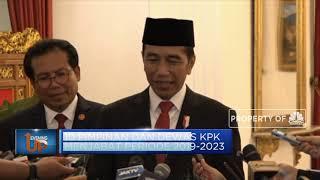 Ini Gaya Jokowi Saat Lantik Pimpinan dan Dewan Pengawas KPK Baru