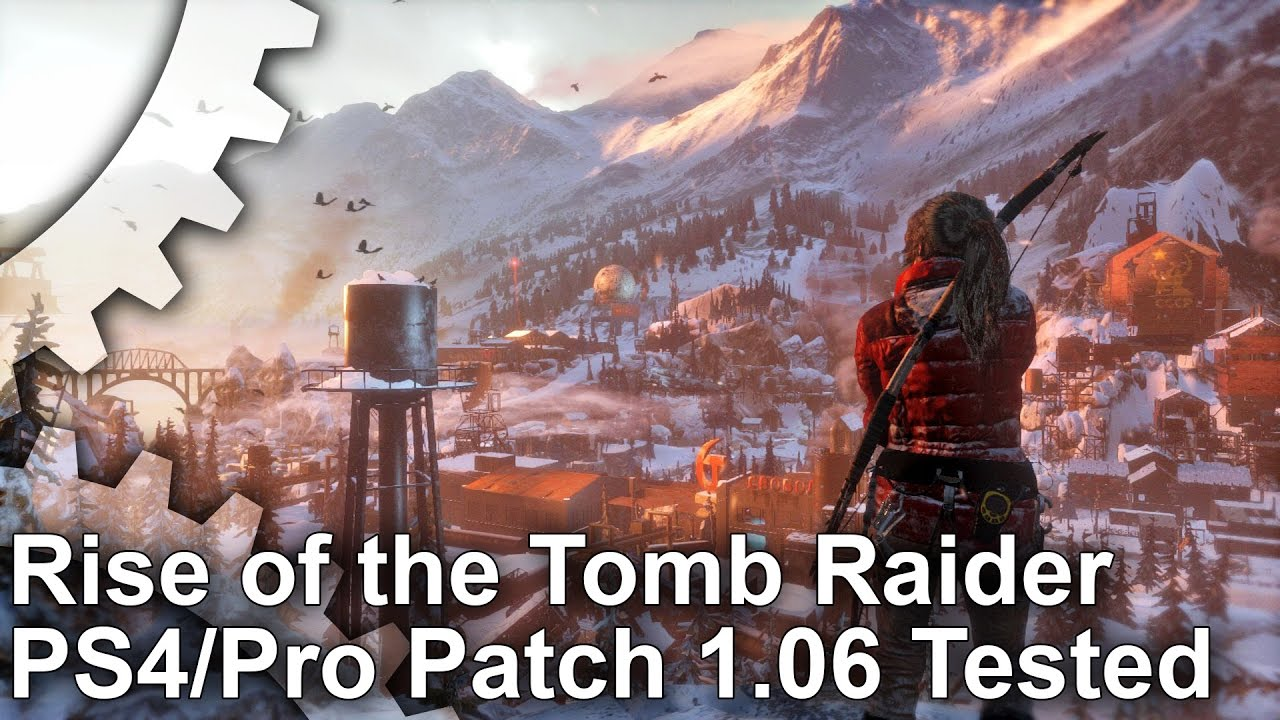 4k Rise Of The Tomb Raider Ps4 Pro Patch 1 06 Much Improved Youtube