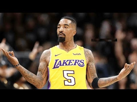 Jr Smith Joins Lebron James On Lakers Youtube